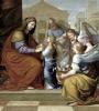 The Education of the Virgin 1658 by Pierre Letellier
