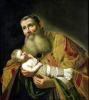 St. Simeon Presenting the Infant Christ in the Temple by Jan Van Bylert