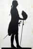 Silhouette of a Man by Jean Gaspard Lavater