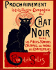 Chat Noir (small) by Theophile-Alexandre Steinlen