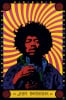 Jimi Hendrix (Psychedelic) by Anonymous