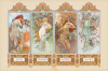 Mucha (4 Seasons) by Alphonse Mucha