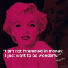 Marilyn Monroe (Quote) by Celebrity Image