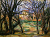 Arbres et maisons, 1885 by Paul Cezanne