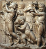 Group of young boys by Andrea Della Robbia
