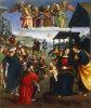 Adoration of the Kings by Eusebio de San Giorgio