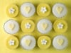 Yellow Cupcakes by Assaf Frank