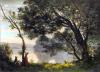 Spring Morning (Restrike Etching) by Jean-Baptiste-Camille Corot