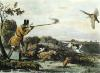Pheasant Shooting (Restrike Etching) by Henry Pyall