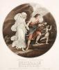 Arpheus & Eurydice (Restrike Etching) by Angelica Kauffmann