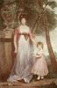 Countess Chomondeley & Child (Restrike Etching) by Sir Joshua Reynolds