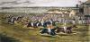 Derby (Tattenham Corner) (Restrike Etching) by Henry Alken