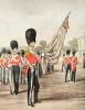 Grenadier Guards Ensign (Restrike Etching) by Henry Martens