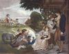 Summer - Bartolozzi (Restrike Etching) by William Hamilton