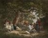 Travellers (Restrike Etching) by George Morland