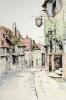 Marmaid street, Rye (Restrike Etching) by Anonymous
