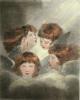 Study of Heads (Restrike Etching) by Sir Joshua Reynolds