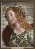 Head of Pallas (Restrike Etching) by Sandro Botticelli