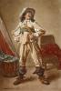 Cavalier (Restrike Etching) by Jean-Louis Ernest Meissonier
