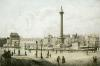 Trafalgar Square, London (Restrike Etching) by Anonymous
