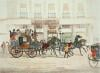 Duke of Beaufort Coach (Restrike Etching) by John Constable