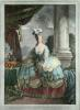 Marie Antoinette (Restrike Etching) by Rossline Suedois