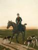 Returning Home (Restrike Etching) by Francisca Stuart Sindici