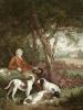 The Weary Sportsman (Restrike Etching) by George Morland