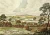 Hounds Crossing (Restrike Etching) by Dean Wolstenholme