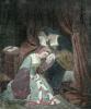 Anne Boleyn (Restrike Etching) by Edouard Francois Berthelemy Michel Cibot