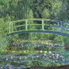 Water Lily Pond, 1899 (blue) by Claude Monet