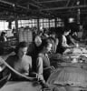 Women in stocking factory, 1942 by Mirrorpix