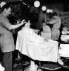 Barbers shop, Streatham 1960 by Mirrorpix