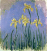 Les Iris Jaunes by Claude Monet