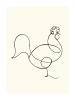 Le Coq 1918 by Pablo Picasso