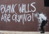 Blank Walls are Criminal by Street Art