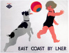 East Coast by LNER - Beachball by National Railway Museum