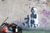 Banksy - Hackney Wick 2 by Panorama London