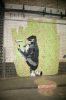 Banksy - Leake Street by Panorama London