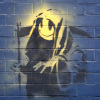 Banksy - Off Moorgate by Panorama London