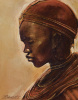 Masai Woman II by Jonathan Sanders