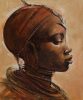 Masai Woman I by Jonathan Sanders