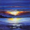 Midsummer Sunset by Davy Brown