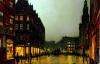 Boar Lane, Leeds by John Atkinson Grimshaw
