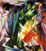 Bird by Franz Marc