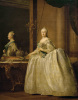Catherine the Great before the mirror 1762 by Virgilius Erichsen