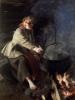 Im Herdhaus 1906 by Anders Leonard Zorn