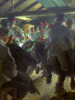 Dance in Gopsmoorkate 1914 by Anders Leonard Zorn