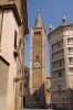 Duomo (Cathedral) and Baptistry, Parma, Emilia-Romagna, Italy by Sergio Pitamitz