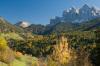 Odle group, Val di Funes, Bolzano, Trentino - Alto Adige, Italy by Sergio Pitamitz